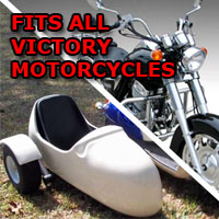 Victory Side Car Motorcycle Sidecar Kit
