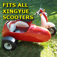 Xingyue Side Car Scooter Moped Sidecar Kit