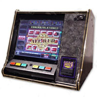 "Countertop 19"" LCD Cherry Master Machine"