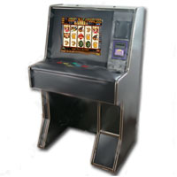 "Dual Game Cherry Master Switcher System With 19"" LCD Sitdown Deluxe Cabinet"