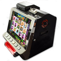 "Metal Countertop 17"" Touchscreen LCD Cherry Master Machine"