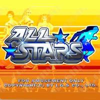 All Stars Cherry Master LCD Video Slot Machine Game