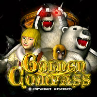 Golden Compass Cherry Master LCD Video Slot Machine Game