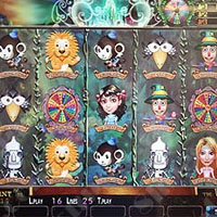Wizard of Oz Cherry Master LCD Video Slot Machine Game