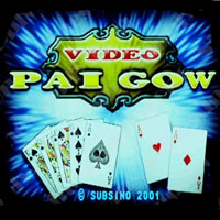 Video Pai Gow Cherry Master LCD Video Slot Machine Game