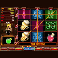 Party Party Cherry Master LCD Video Slot Machine Game