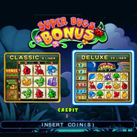 Super Bugs Cherry Master LCD Video Slot Machine Game