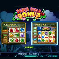 Super Bugs Cherry Master LCD Video Slot Machine Game
