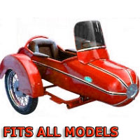 Standard Rocket Side Car Scooter Sidecar Kit - Fits All Models