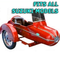 Standard Rocket Side Car Motorcycle Sidecar Kit