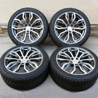 "20"" BMW x6 m, 35i, 50i and x5 m 3.0, 4.4, 4.8 Wheels and Delinte Tires x5 x6 Rims"