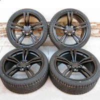 "19"" BMW m5 Style Staggered Wheels and Tires for BMW 525, 528, 530, 535, 540, 545"