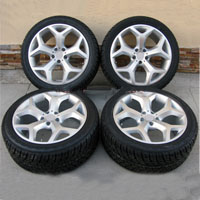 "22"" BMW x5 3.0, 4.4, 4.8 Y-Spoke Style Wheel and Tire Package BMW x5 Rims"