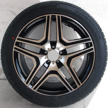 20 mercedes benz wheel and delinte tire package with rims for Mercedes benz ml320 tires