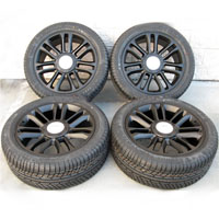 "22"" Cadillac Escalade Wheel & Tire Package Matte Black"