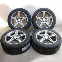 "20"" Mercedes Benz Wheel and Fullway Tire Package Rims for MBZ GL450 and GL550"