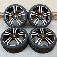 "19"" Porsche 911 996 997 Turbo II Style Carrera Wheel and Hankook Tire Package"