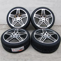 "19"" Porsche 911 996 997 Carrera Wheel and Hankook Tire Package"