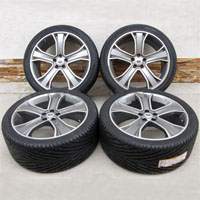 "22"" Range Rover Wheel Tire Stormer Package Sport HSE"
