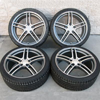 "19"" BMW 5-Star Style Staggered Wheels and Mayrun Tires for 325I 328I 330I 335I Z3 Z4"