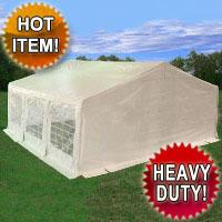 Heavy Duty 20' x 20' White Party Tent