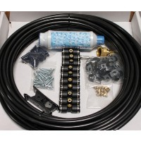 25 Nozzle Low Pressure Misting Kit
