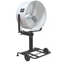 "36"" Misting Fan with Pump and Ring"