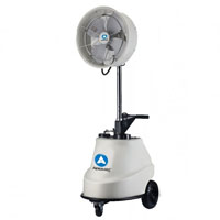 "Aero-Cool Portable 18"" Oscillating Misting Fan"