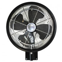 "18"" Oscillating Wall Mount Misting Fan"