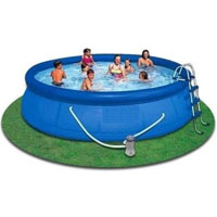 "15' x 48"" Easy Set-Up Above Ground Swimming Pool"