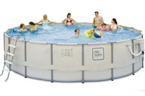 "ProSeries 15' x 48"" Easy Set-Up Above Ground Swimming Pool"
