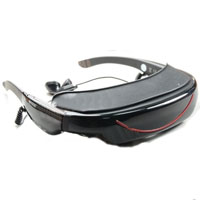 "72""Virtual Video Glasses Eyewear Iwear for Apple player -your private theater"