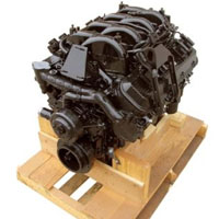 8.1L Vortec Base Marine Engine (2000-2012 Replacement) 375 HP