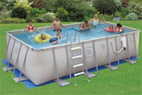 "ProSeries 12'x24'x52"" Easy Set-Up Above Ground Swimming Pool"
