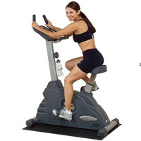 Endurance B2U Manual Upright Exercise Bike