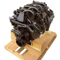 8.1L Vortec Base Marine Engine (2000-2012 Replacement) 420 HP