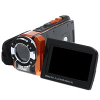 5.0 MP Digital Camcorder with 4X Digital Zoom