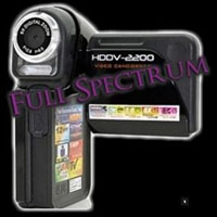 Full Spectrum Digital Video Camera Ghost Hunting