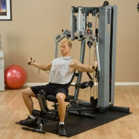 FUSION 400 Personal Trainer with 210 lb. Weight Stack