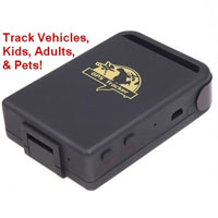 Real Time Spy GPS Car Locator Tracking System
