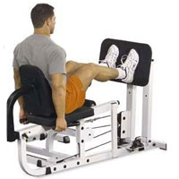 Body Solid Leg Press Option for EXM4000S