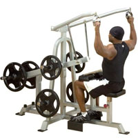 Leverage Lat Pulldown Fitness Machine