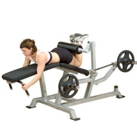 Leverage Leg Curl Exercise Machine