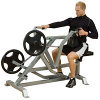 Leverage Seated Row Fitness Trainer