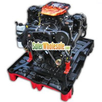 5.7L (357 ci) Magnum Alpha 4V Complete Marine Engine Package