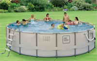 "ProSeries 18' x 52"" Easy Set-Up Above Ground Swimming Pool"
