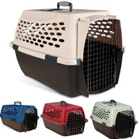 Durable Easy Travel Multicolored Front Load Kennel in Four Sizes