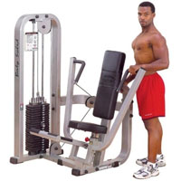 ProClub Line Chest Press w/ 210lbs Weight Stack