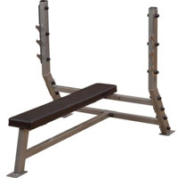 Body Solid Flat Olympic Weight Bench