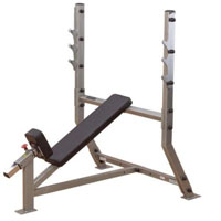 Body Solid Incline Olympic Weight Bench